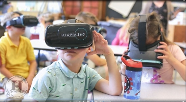 Virtual reality field trip