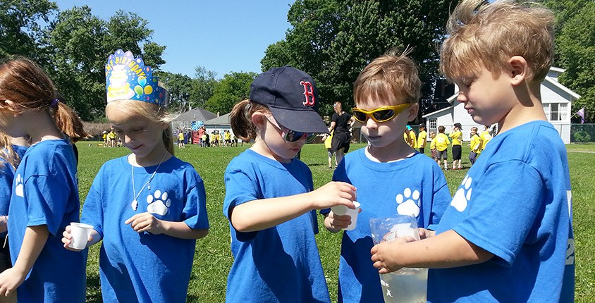 Field Day at Union Pleasant Elementary