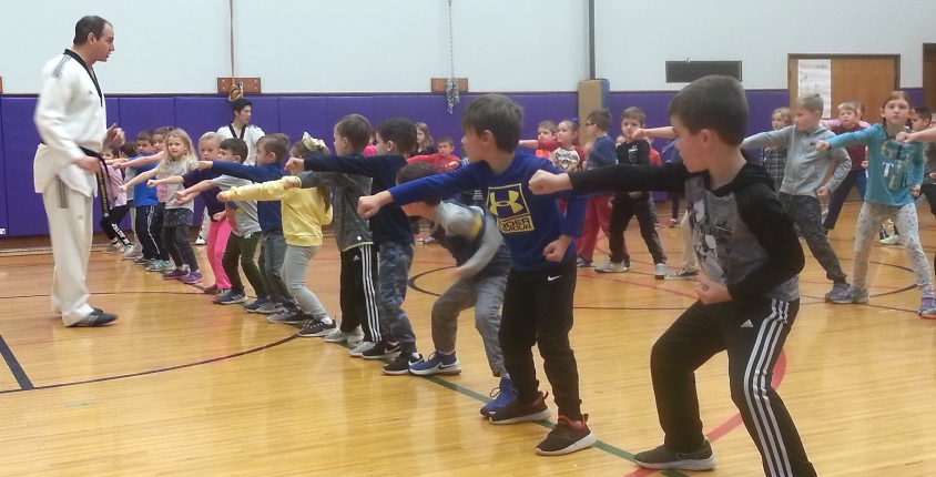 Tae Kwon Do at Union Pleasant Elementary