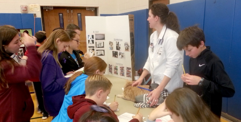 Veterinarian Career Fair Middle School